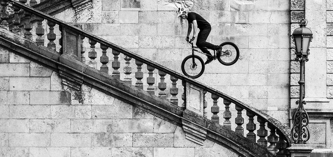 Andi Schuster | Mountainbike Trial Show | München