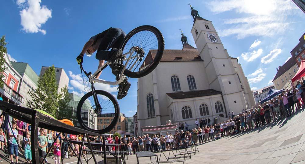 Update, Sommertermine, privates und Urlaub - Andi Schuster Mountainbike Street Trial